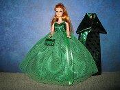 Emerald Sparkle with purse & wrap PREORDER