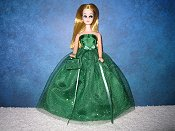 Emerald Glitter Ballgown