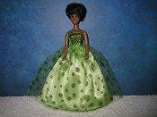 Lime Glitter Ballgown (Dale)