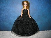 MIDNIGHT SKY gown with purse