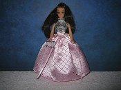 Pink Diamond Ballgown Halter
