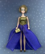 Bewitched Royal Blue with purse