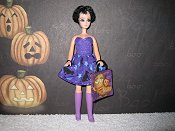 Black Cats on Purple Mini/purse/bag