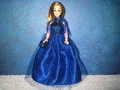 Blue Ballgown