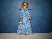 Blue Diamond Gown & coat Repro