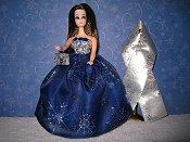 Midnight Snowflakes ballgown set
