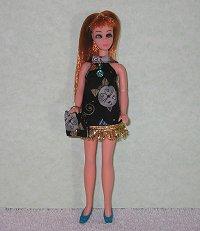 Bowtie Kitties--Blue with purse