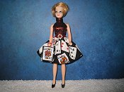 Cards Halter Twirl with purse