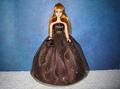 Chocolate Sparkle Gown PREORDER