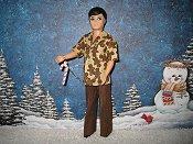 Gary Gingerbread pants & shirt