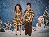 Gingerbread Dawn & Gary set