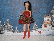 Eyelash Christmas Mini with purse