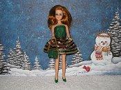 CHRISTMAS FLOUNCE mini with purse
