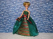 CHRISTMAS SPARKLER gown with purse