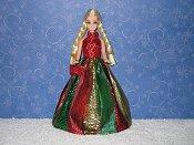 CHRISTMAS SPLENDOR ballgown with purse