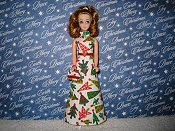 Christmas Tree Gown with purse PREORDER