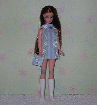 Daisy Blue Sparkle Dancing mini with purse
