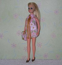 Daisy Pink Sparkle Dancing mini with purse