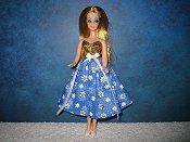 Blue Daisy Dress