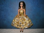 Gold and Silver Diamonds Dress