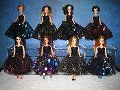 Metallic Mesh fabric Dresses