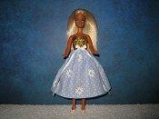 Sky Blue Daisy Dress