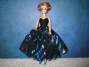 Turquoise Whirl Dress