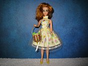 Yellow & Tulle mini with basket
