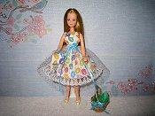 Jelly Beans Dress with purse (Pippa)