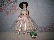 Pastel Dress with purse (Maureen)