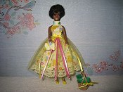 Yellow Tulle Dress with purse & basket (Dale)