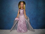 LILAC MIST gown with purse