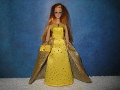 SUNBEAM gown with purse