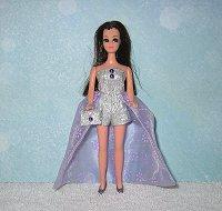 Purple Sparkle Daisy