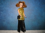Gold and Black Tinsel Tunic