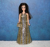 Glimmering Stardust style gold and silver gown PREORDER