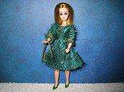 Green Eyelash Dress