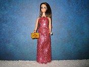 Dark Pink Slim gown (Angie)