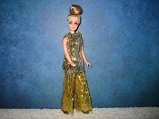 Silver & Gold Tinsel Tunic