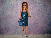 Eyelash Turquoise Dancing Mini