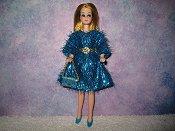 Eyelash Turquoise Dress
