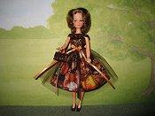 Pumpkin Patch Kitties dress