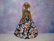 FLORAL DELIGHT gown with purse