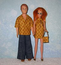 Gold Diamond Gary & Dawn outfits