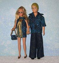 Gary & Dawn Teal Diamond outfits
