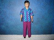Teal & Purple Diamond (purple pants)