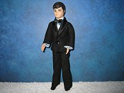 Tuxedo with BLUE dickie