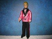 Valentine Dark Pink Tuxedo