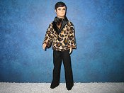 Leopard cord Tuxedo
