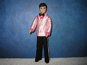 Light Pink Dark Pink Tuxedo
